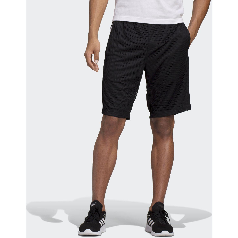 Adidas e 3s shrt mesh Negro / blanco Shorts Deportivos