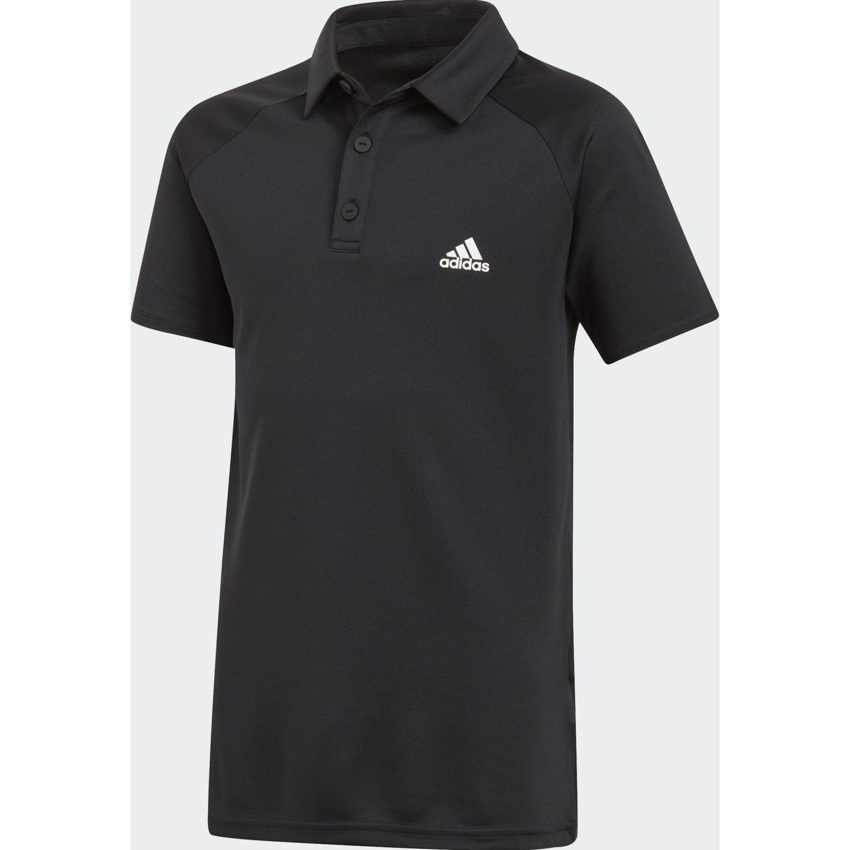 Adidas b club polo Negro / blanco Camisetas y Polos Deportivos