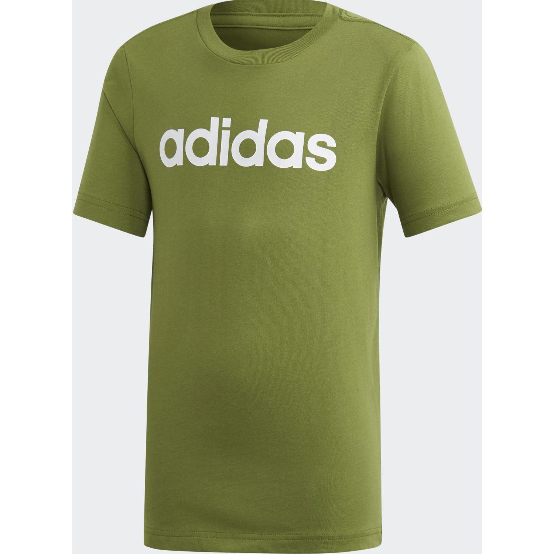 Adidas Yb E Lin Tee Olivo Camisetas y polos deportivos