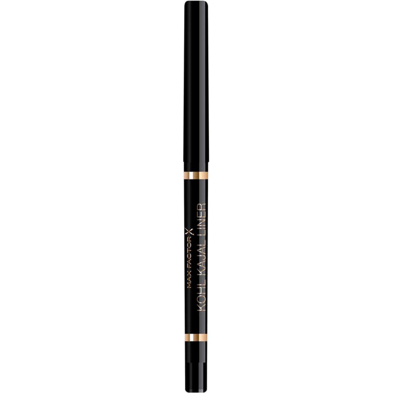 Max Factor Delineador De Ojos Kohl Liner Automatic Pencil Black Combinaciones de sombra y delineador