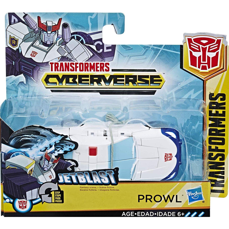 Transformers tra cyberverse  prowl Varios Figuras de acción