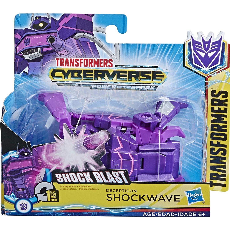 Transformers tra cyberverse  shockwave Varios Figuras de acción