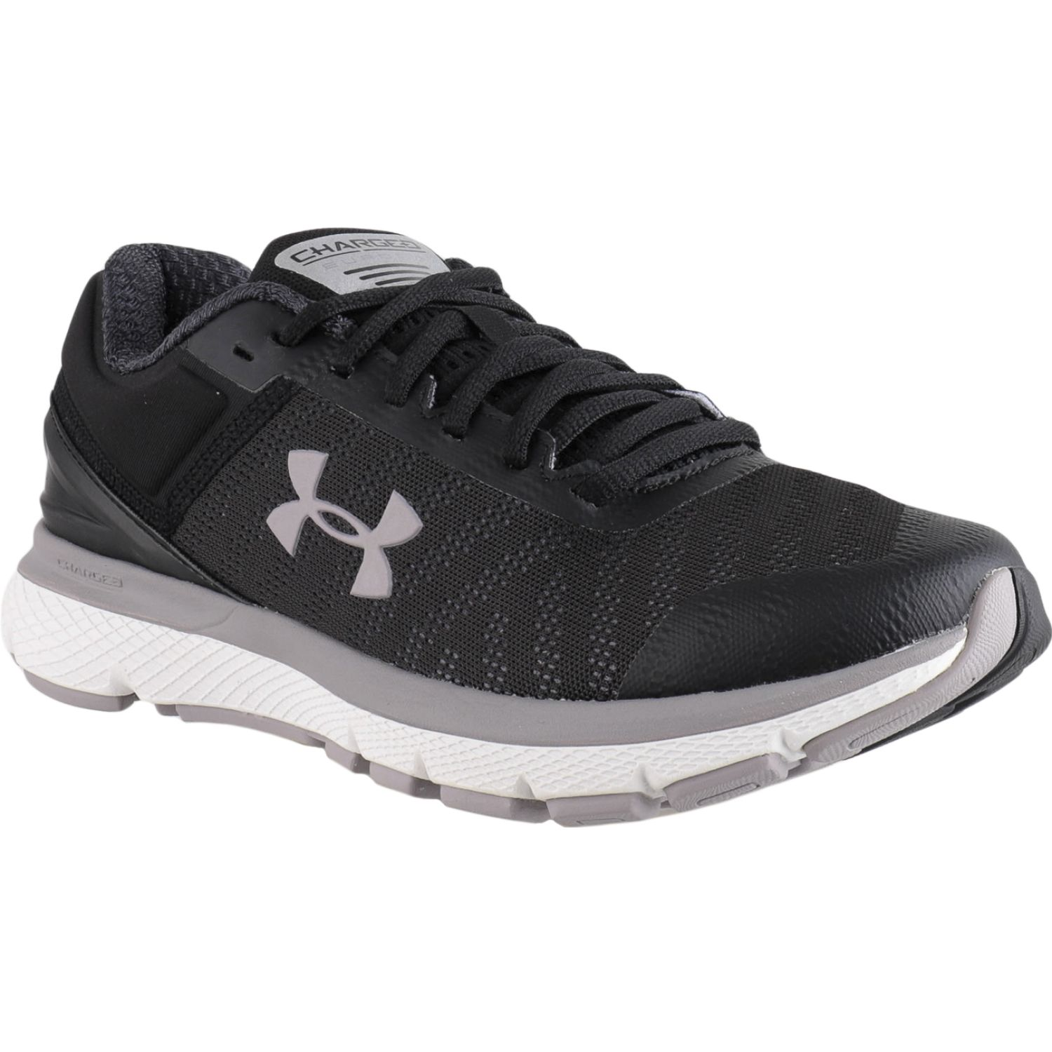 Under Armour ua w charged europa 2 Negro / blanco Trail Running