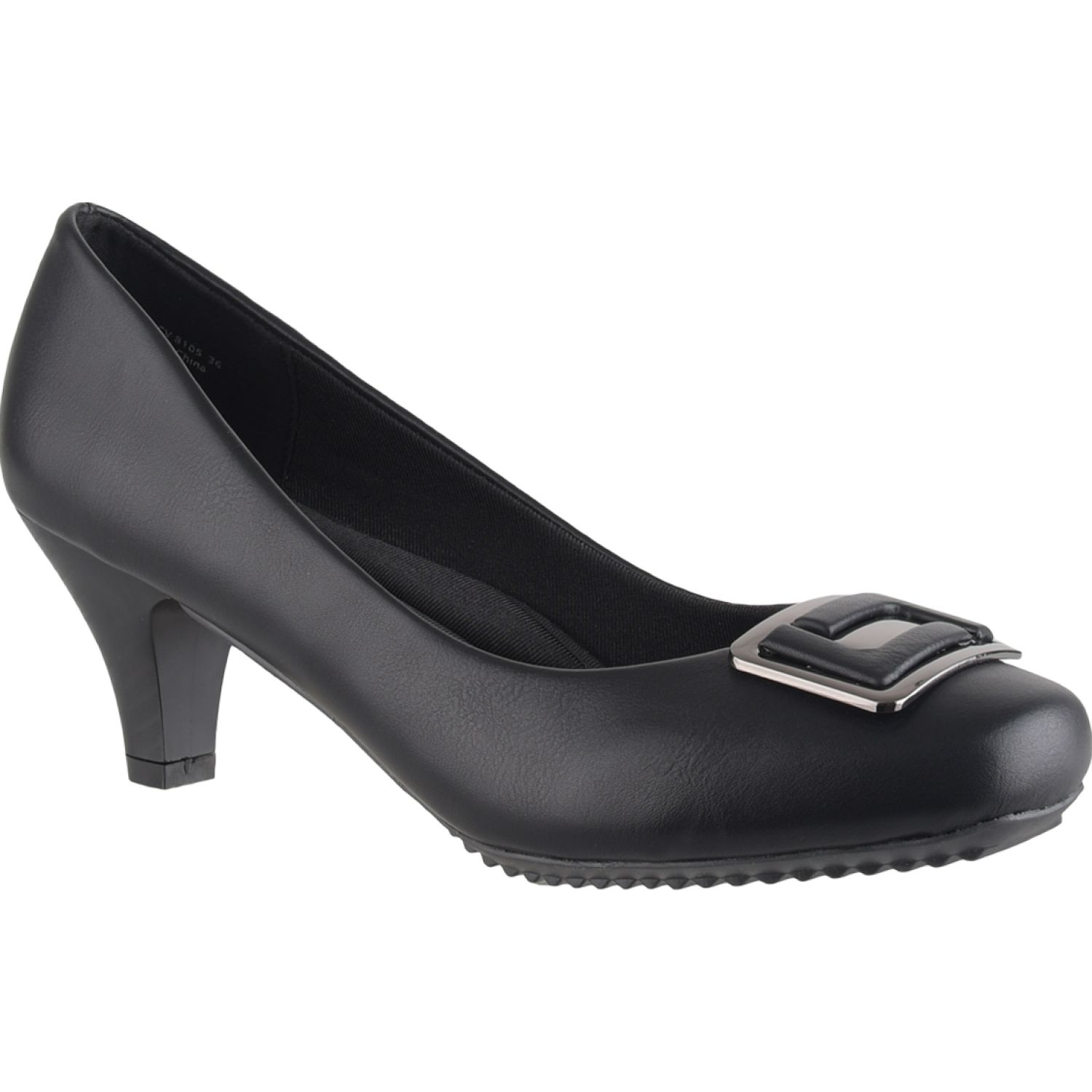 Platanitos Cv 8105 Negro Estiletos y pumps