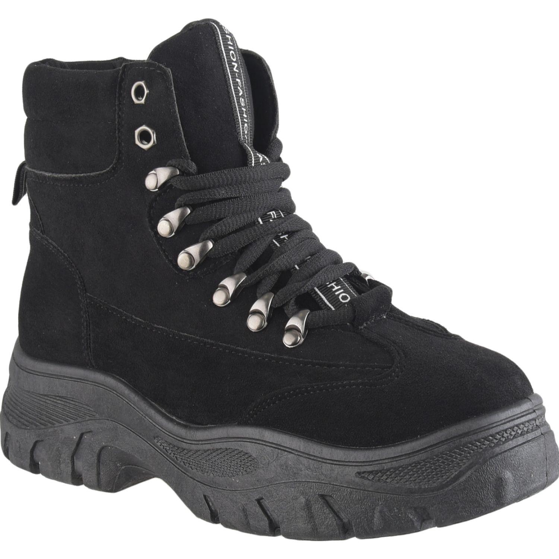 Platanitos Zb 4169 Negro Zapatillas de moda