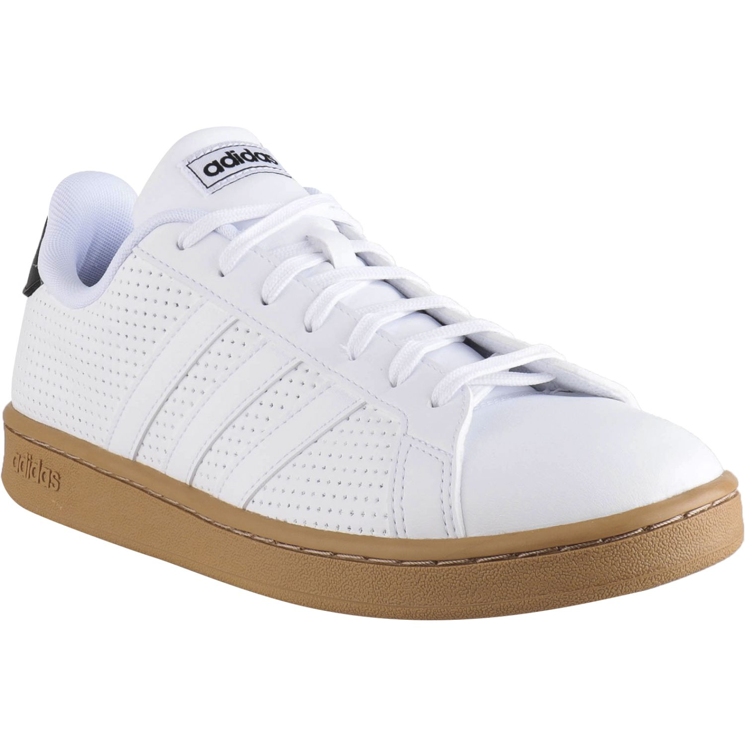 Adidas grand court BLANCO / MOSTAZA Walking