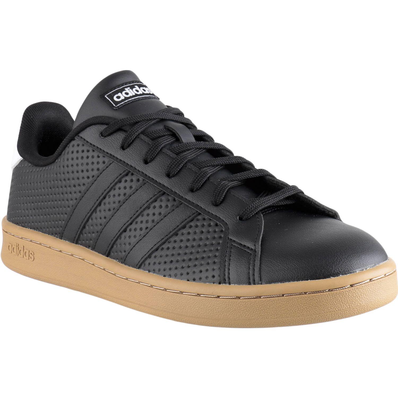 Adidas GRAND COURT Negro / blanco Walking