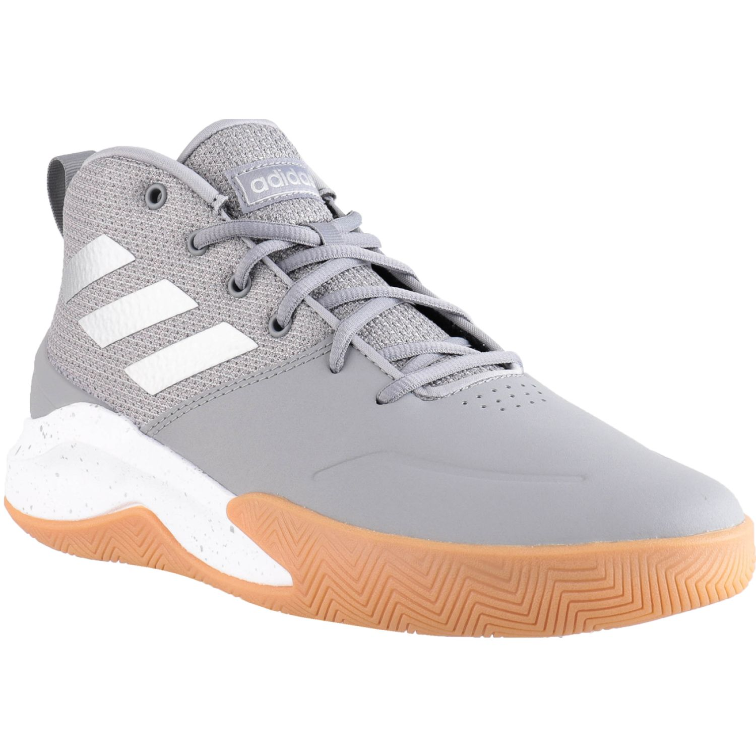 Adidas ownthegame Gris / blanco Hombres
