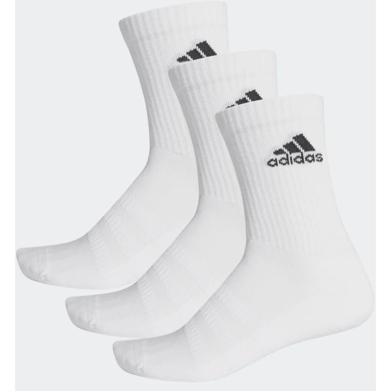 Adidas CUSH CRW 3PP Blanco / negro Calcetines