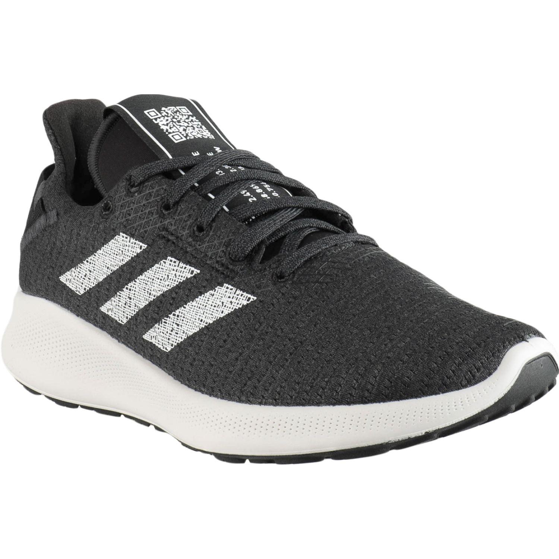 Adidas sensebounce + street w PLOMO / BLANCO Running en pista