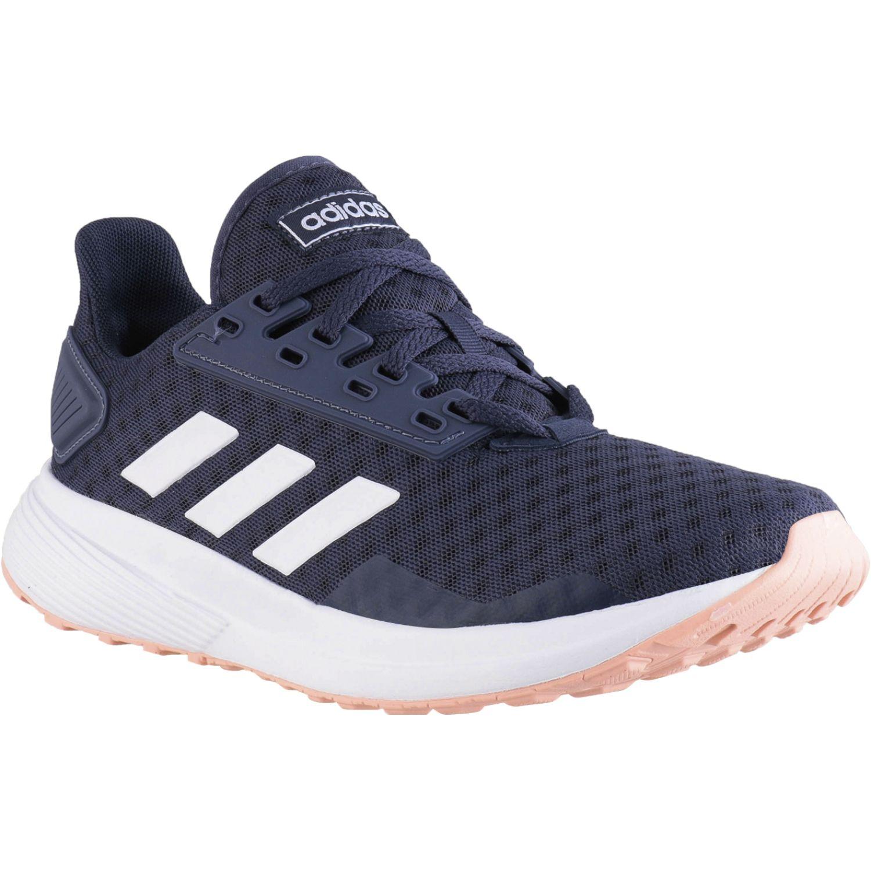 Adidas Duramo 9 PLOMO / BLANCO Correr por carretera