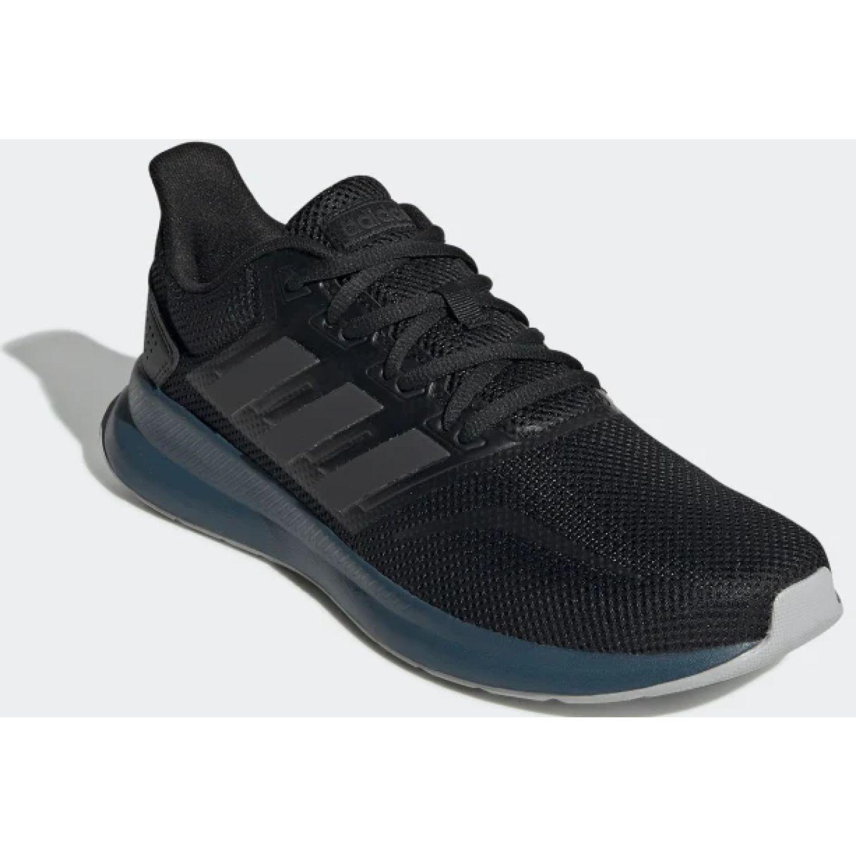 Adidas runfalcon Negro / turquesa Running en pista
