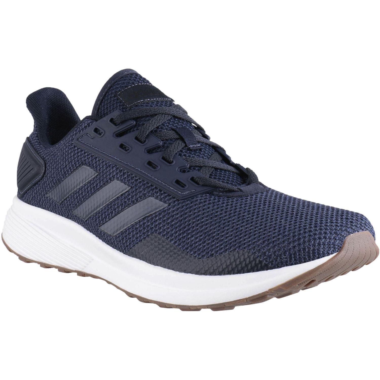 Adidas DURAMO 9 Navy / Blanco Running en pista