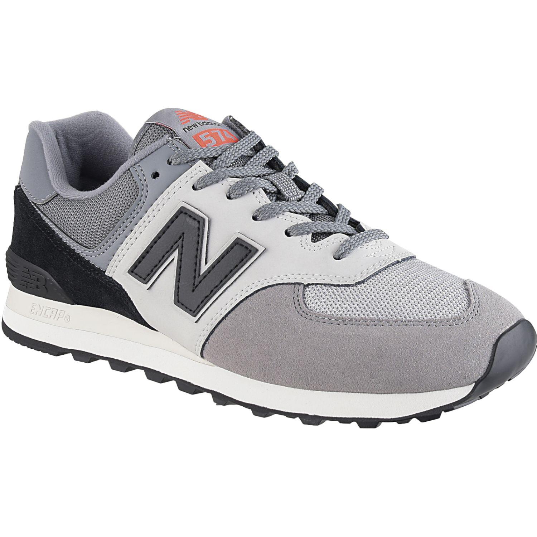 New Balance 574 Gris / negro Walking