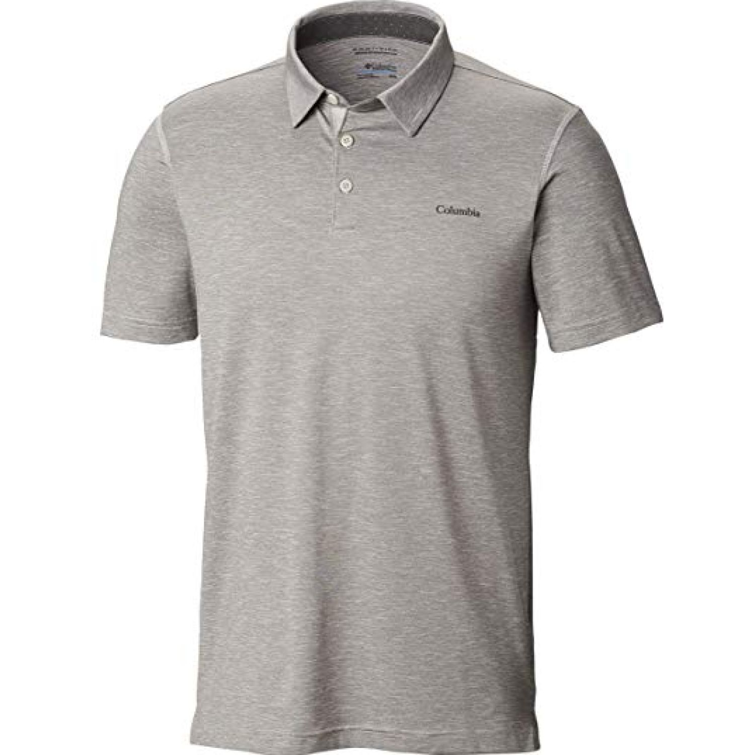 Columbia Tech Trail Polo Gris Camisa estilo polo