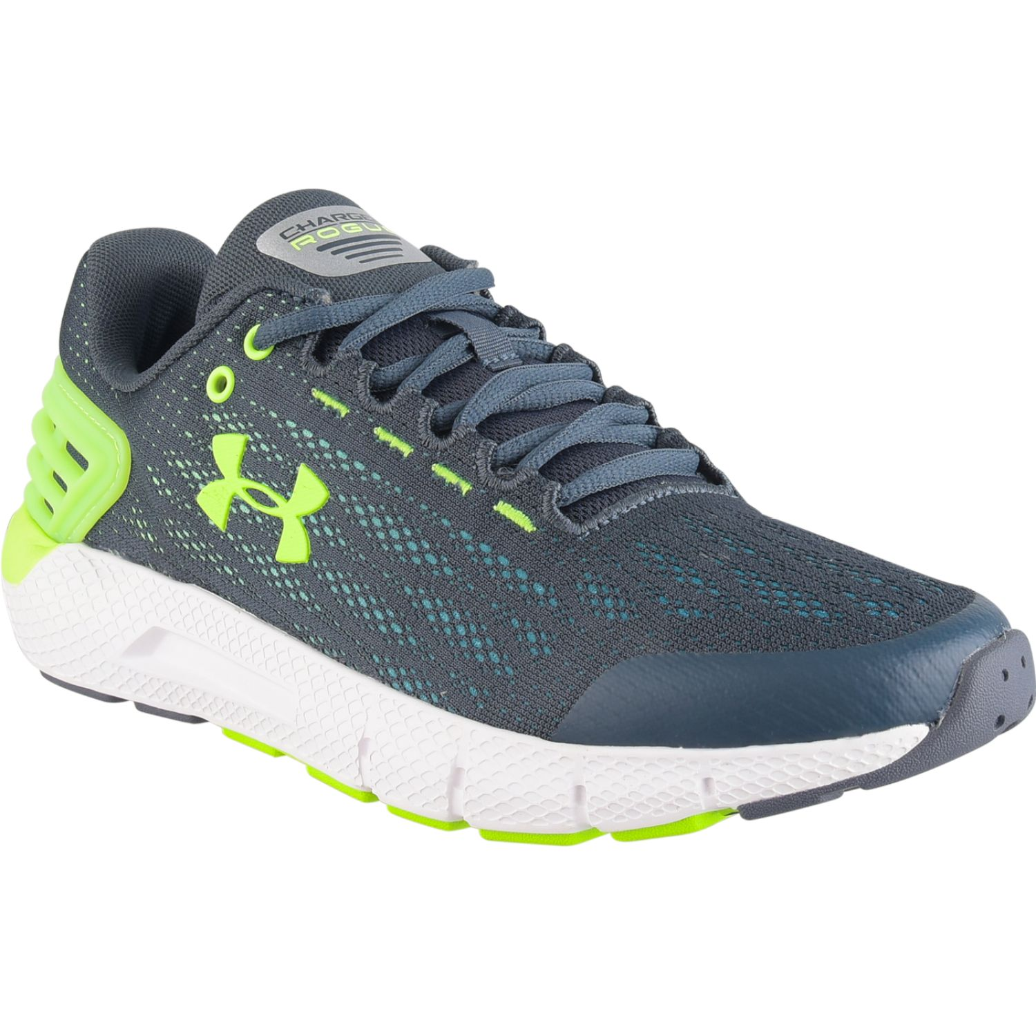 Under Armour Ua Bgs Charged Rogue Negro / verde Niños