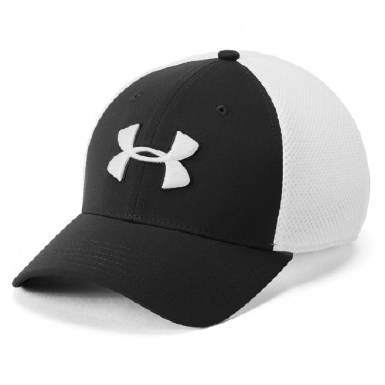 Under Armour men's tb classic mesh cap Negro / blanco Gorros de Baseball