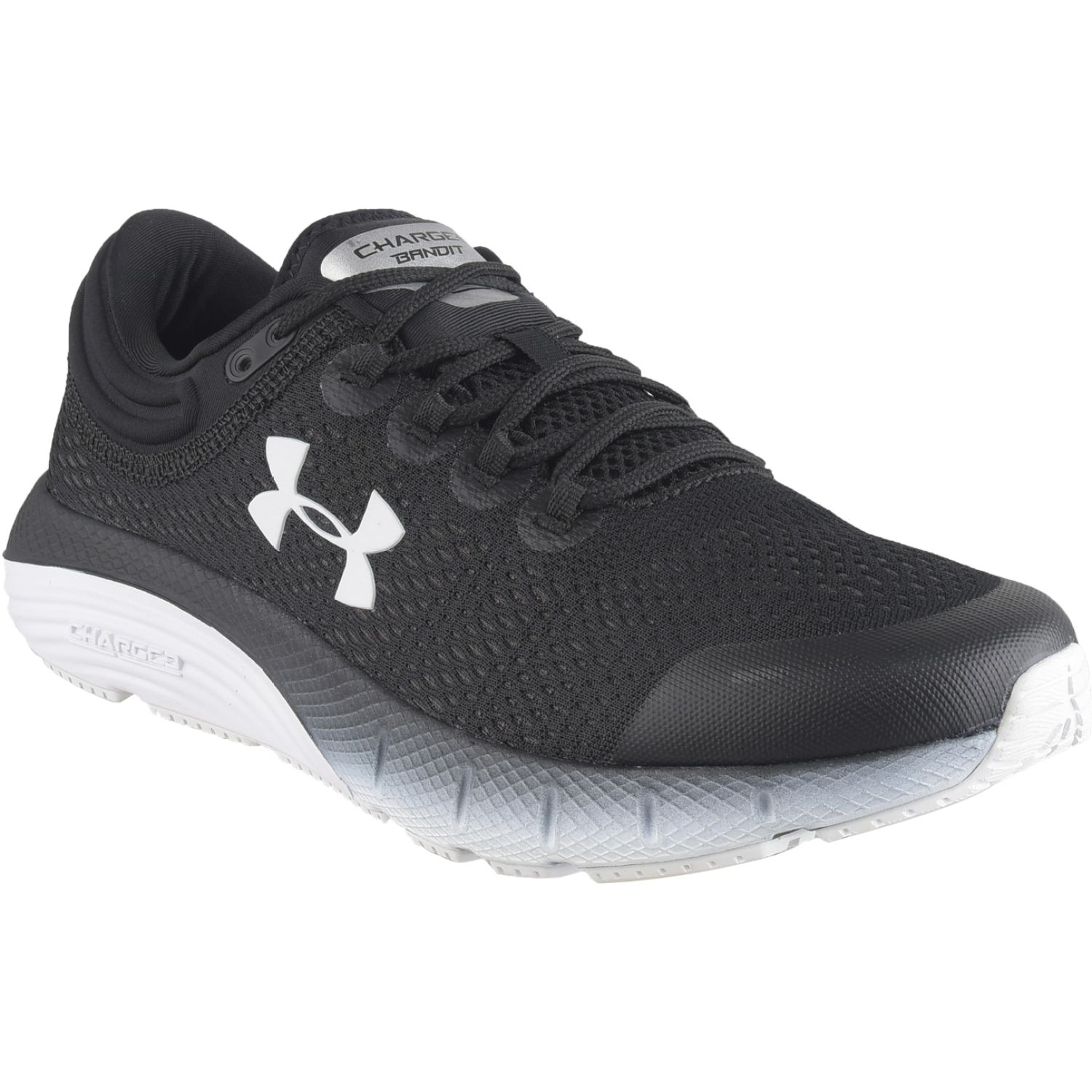 Under Armour ua w charged bandit 5 Negro / blanco Trail Running