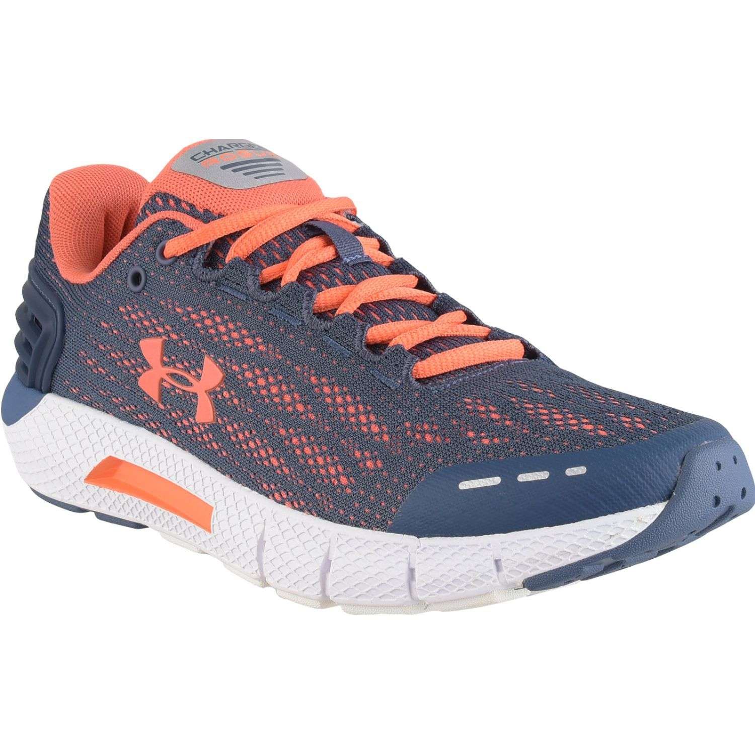 Under Armour Ua W Charged Rogue Plomo / naranja Calzado de correr