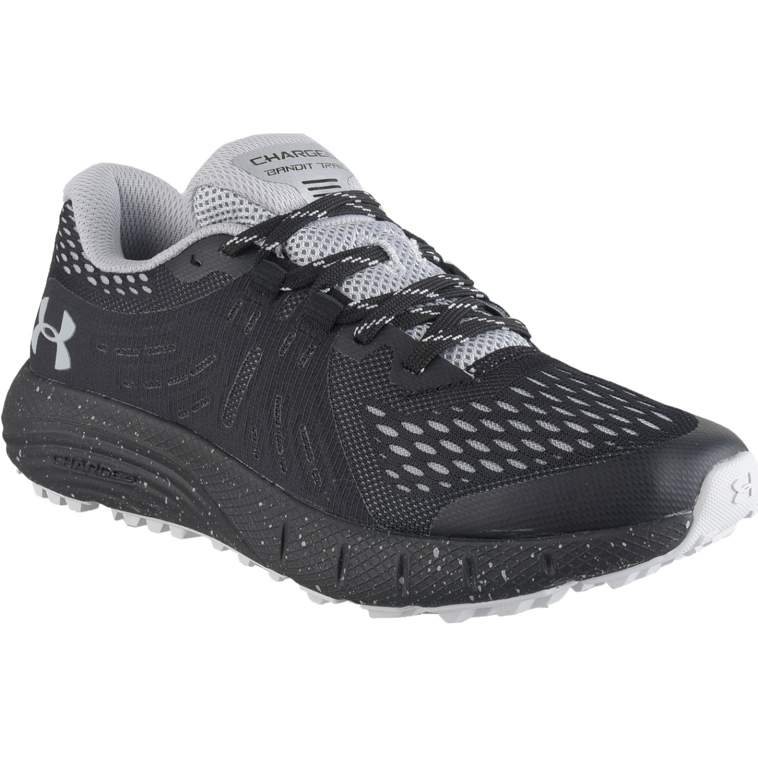 Under Armour UA W Charged Bandit Trail Negro / blanco Trail Running