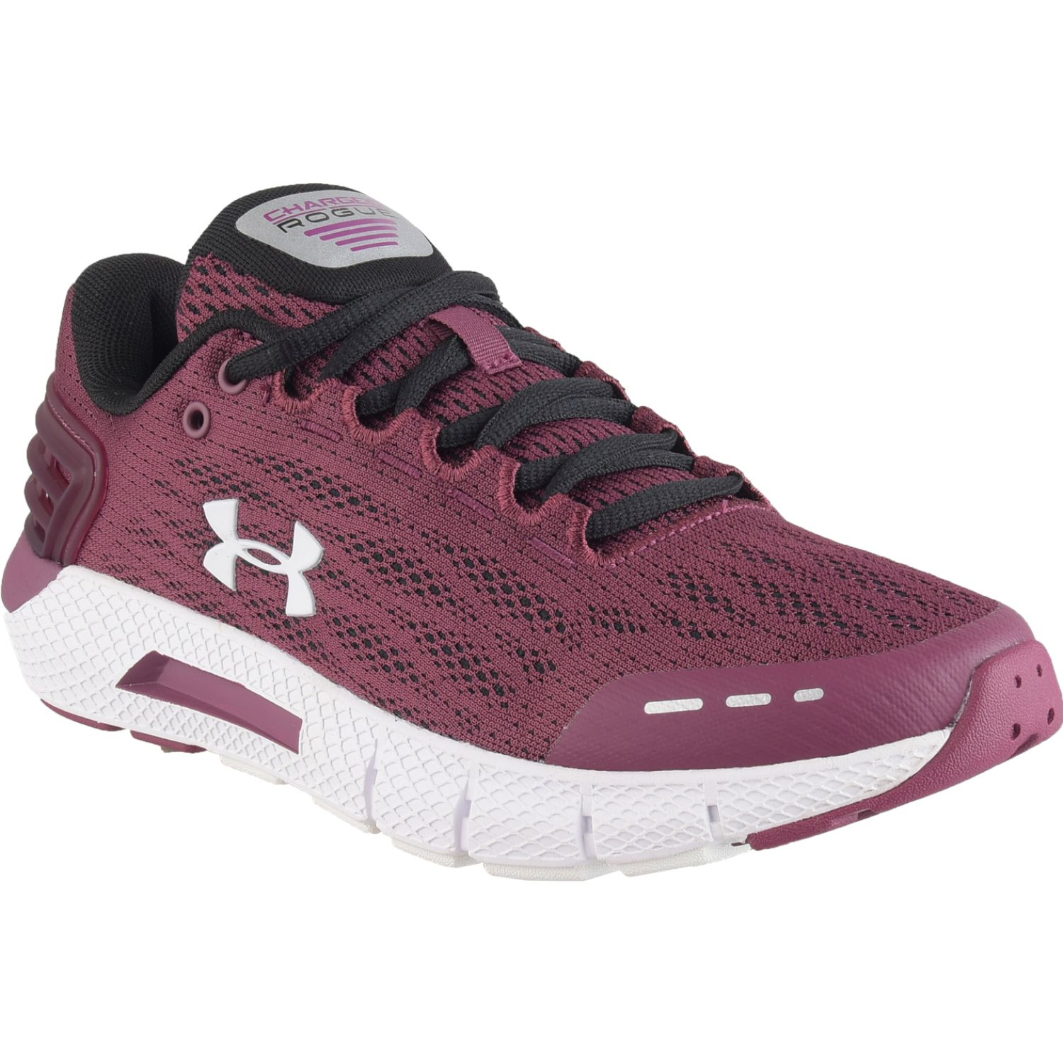 Under Armour UA W Charged Rogue Guinda Trail Running