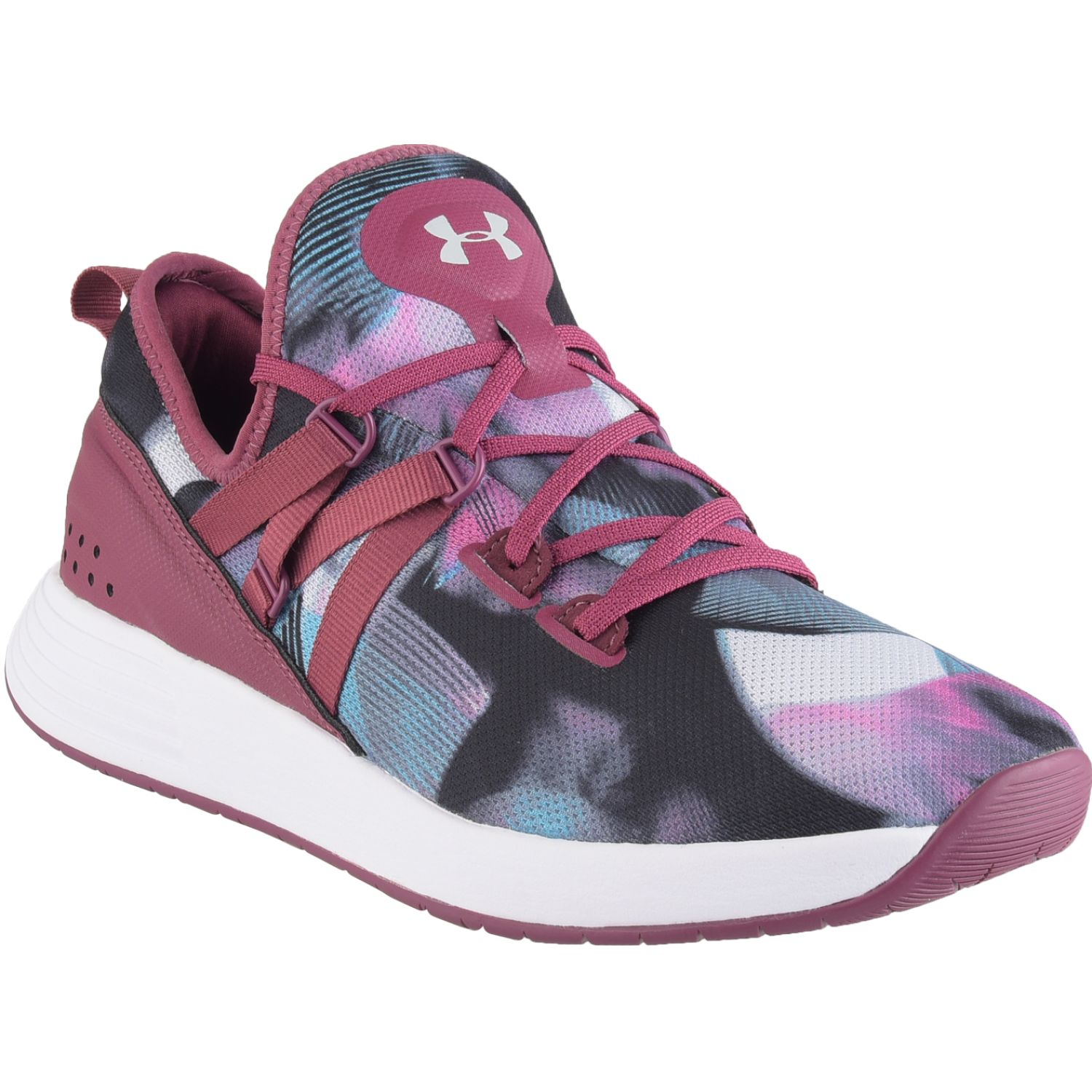Under Armour Ua W Breathe Trainer Prnt Guinda Mujeres