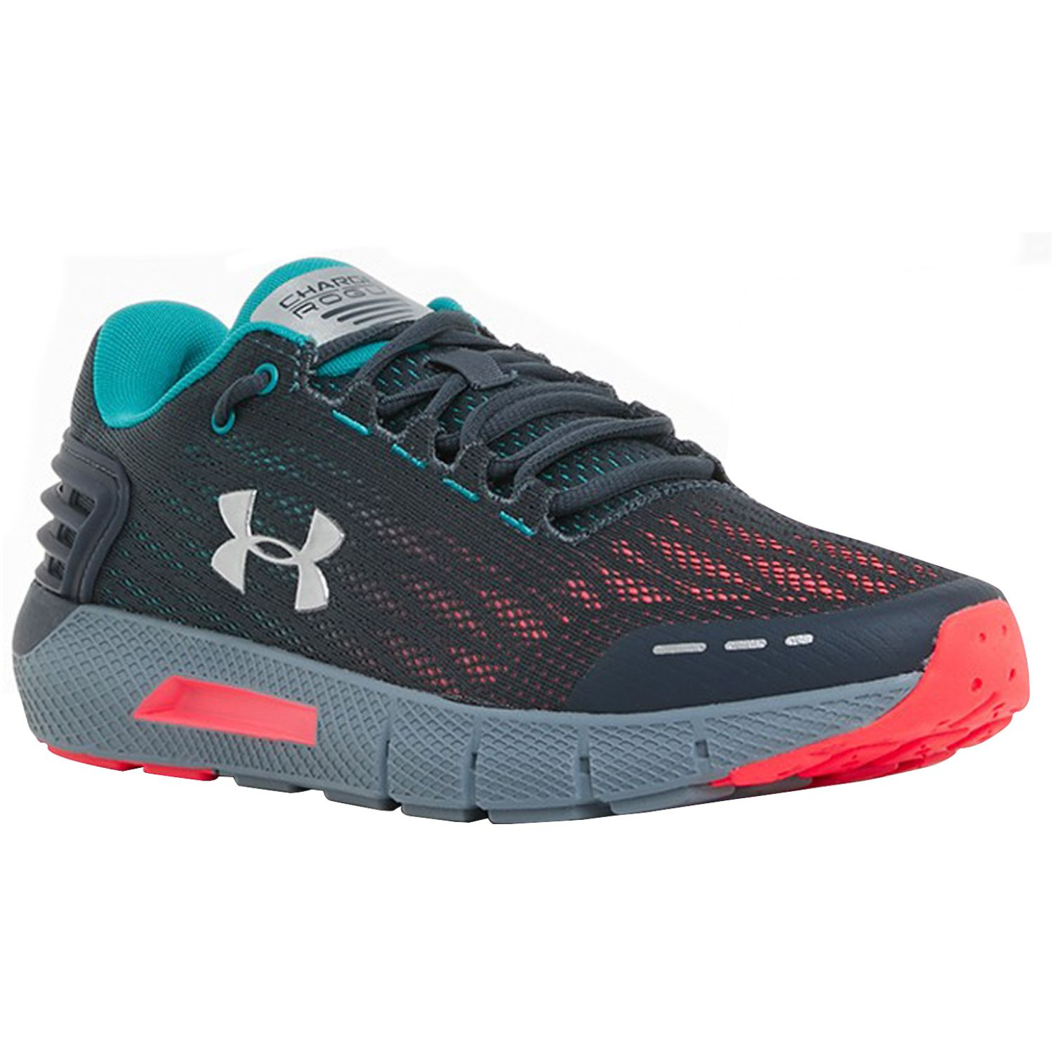 Under Armour ua charged rogue Negro / turquesa Trail Running