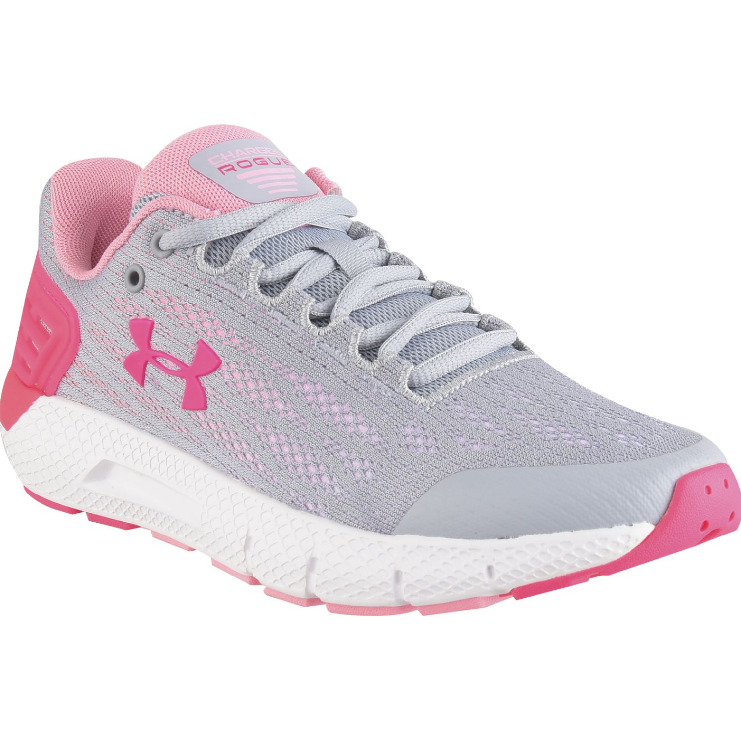 Under Armour ua ggs charged rogue Gris / fucsia Chicas