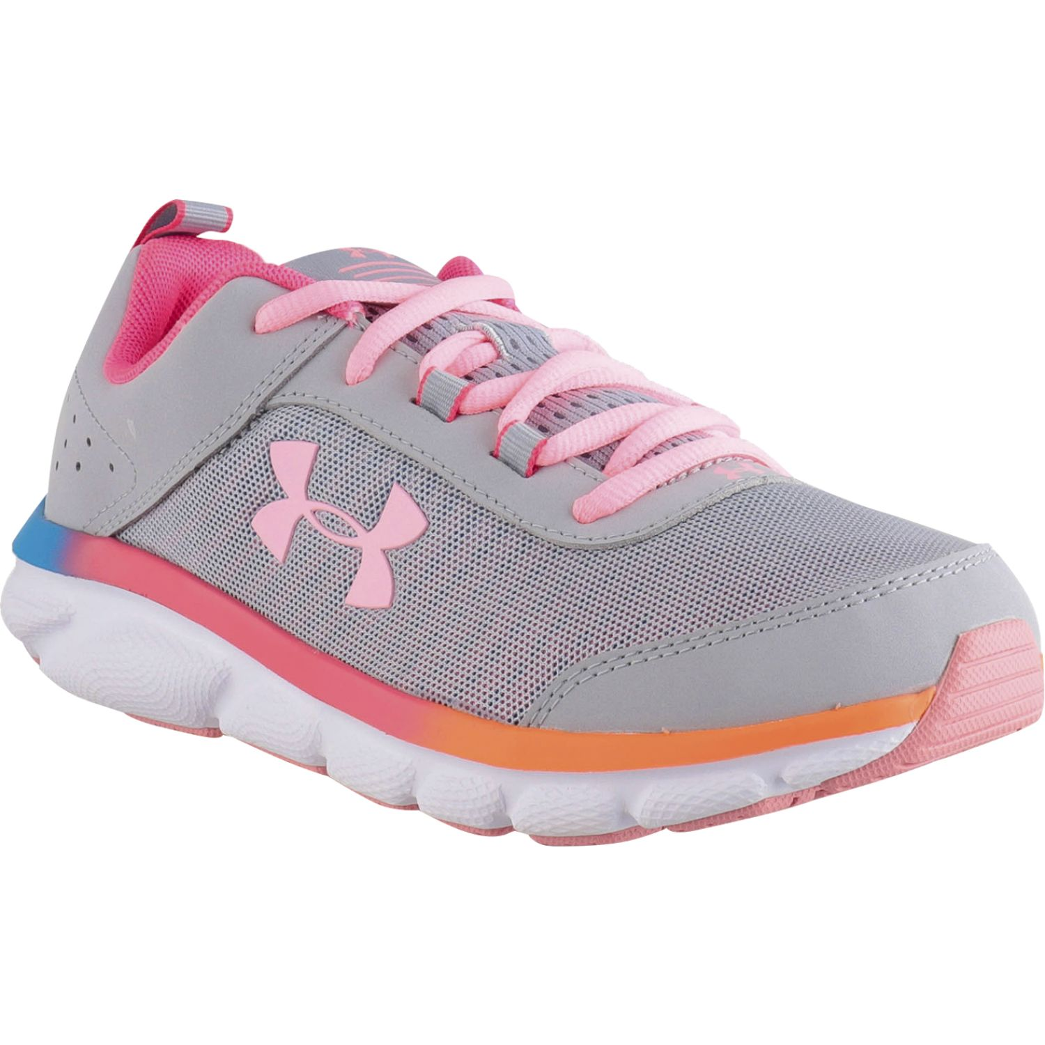 Under Armour ua gs assert 8 Gris / rosado Chicas