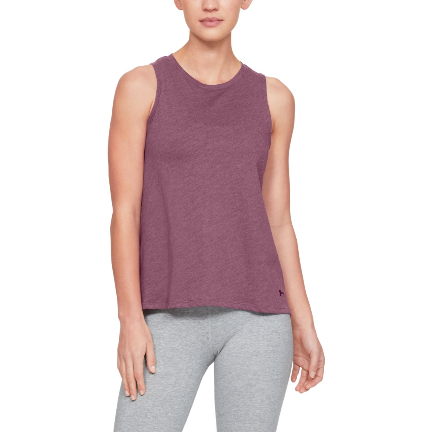Under Armour graphic fashion flow tank Guinda Tank Tops