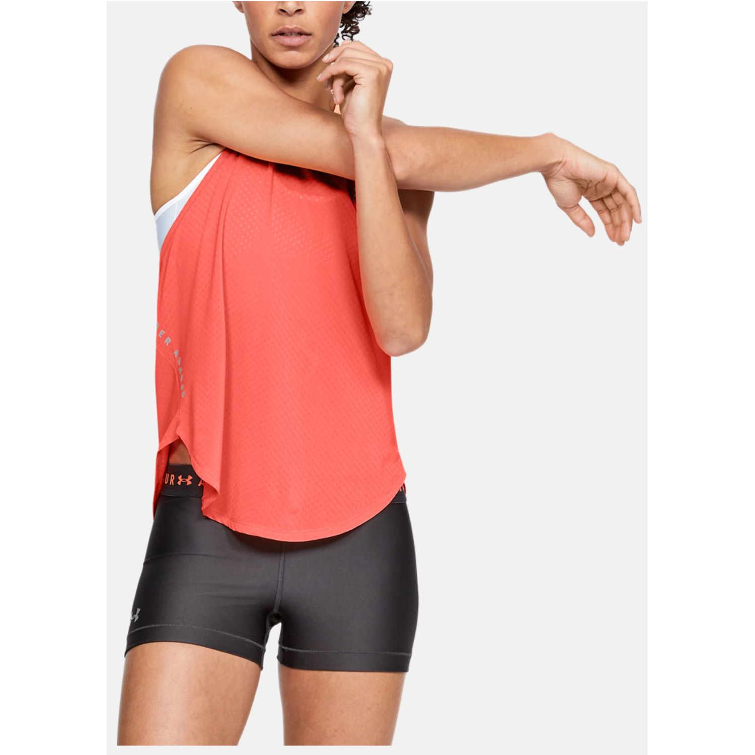 Under Armour armour sport graphic tank Coral Tank Tops