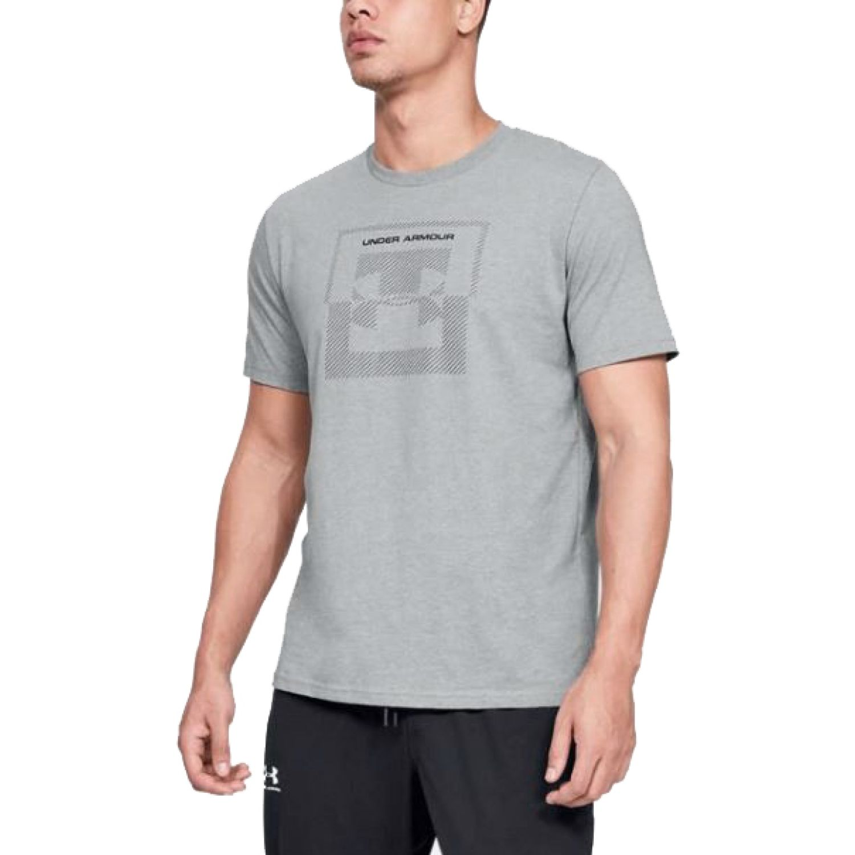 Under Armour Ua Inverse Box Logo Gris Camisetas y polos deportivos