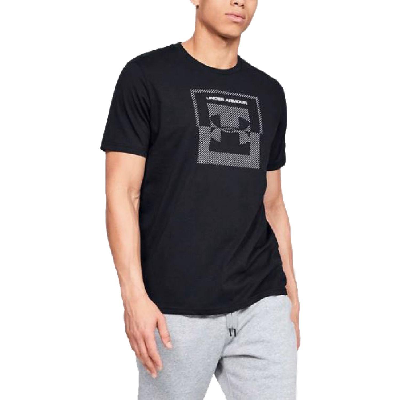 Under Armour Ua Inverse Box Logo Negro / plomo Camisetas y polos deportivos