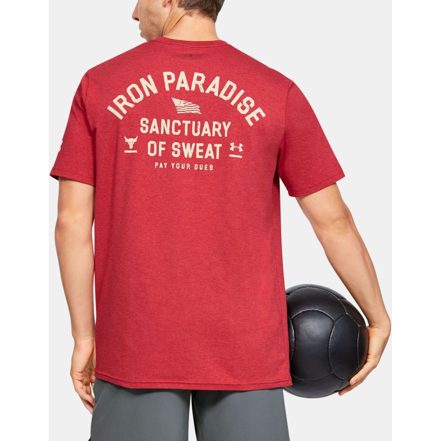 Under Armour Project Rock Iron Paradise Ss