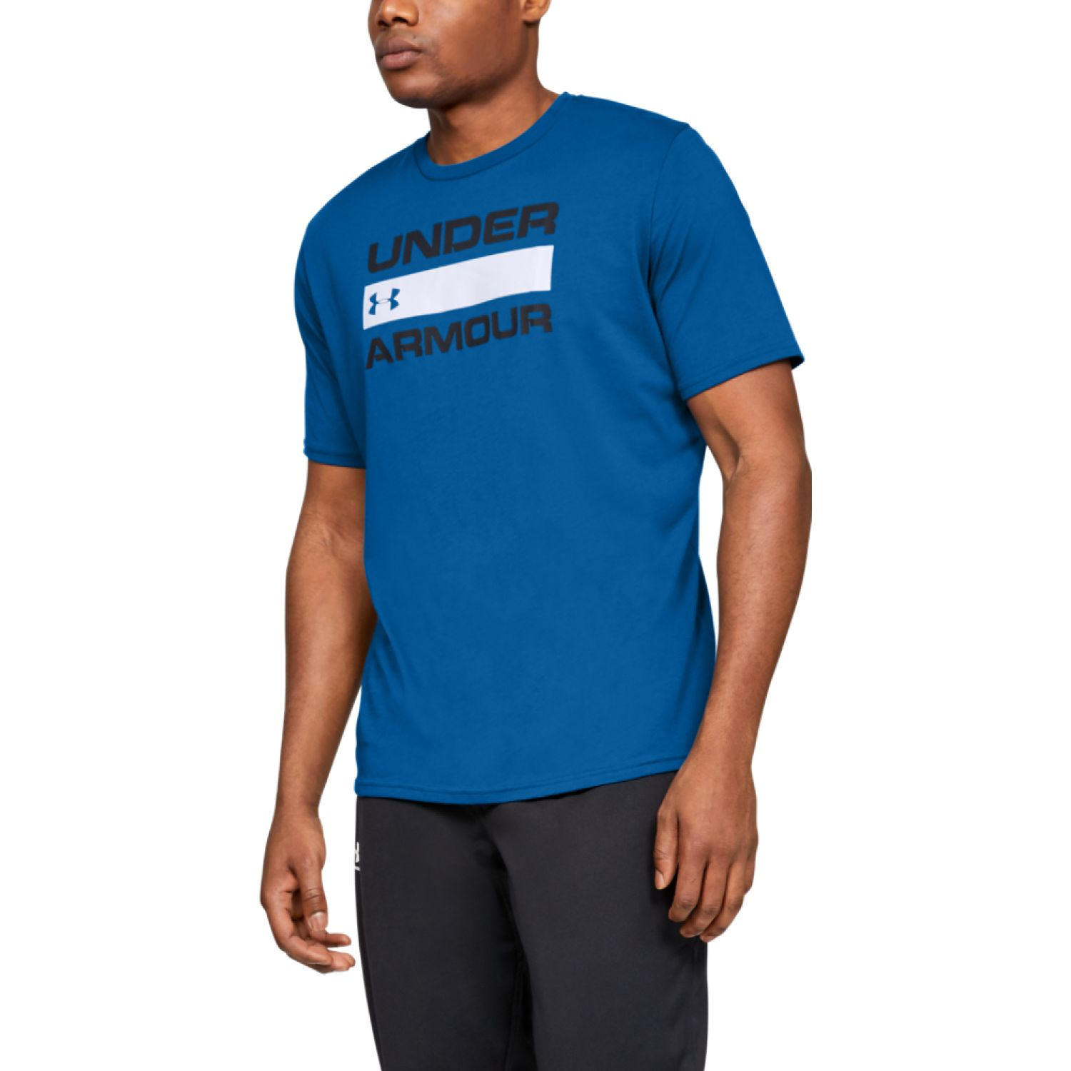 Under Armour Ua Team Issue Wordmark Ss Azulino Camisetas y polos deportivos
