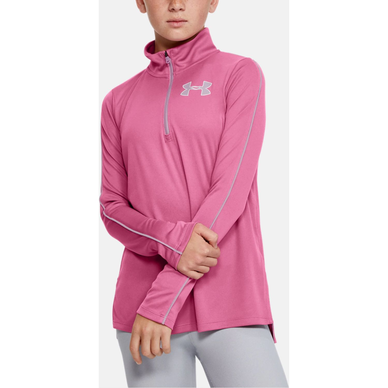 Under Armour Tech 1/2 Zip Rosado Hoodies y sudaderas de moda