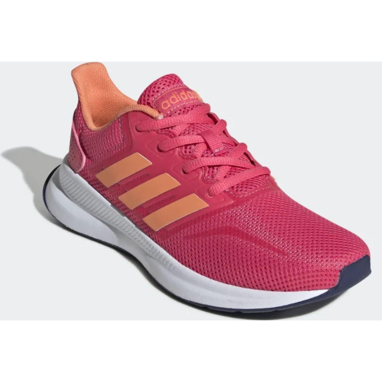 Adidas runfalcon k ROSADO / NARANJA Chicas