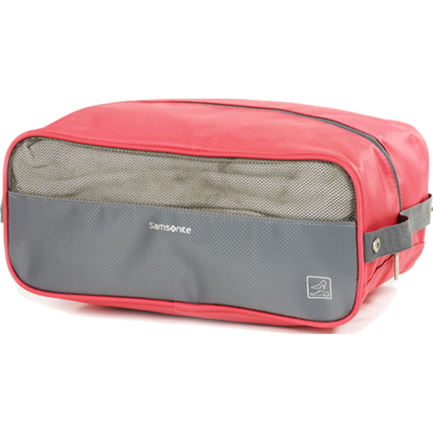 Samsonite Travel Link Acc. Shoe Bag Coral / gris Bolsos de Calzado