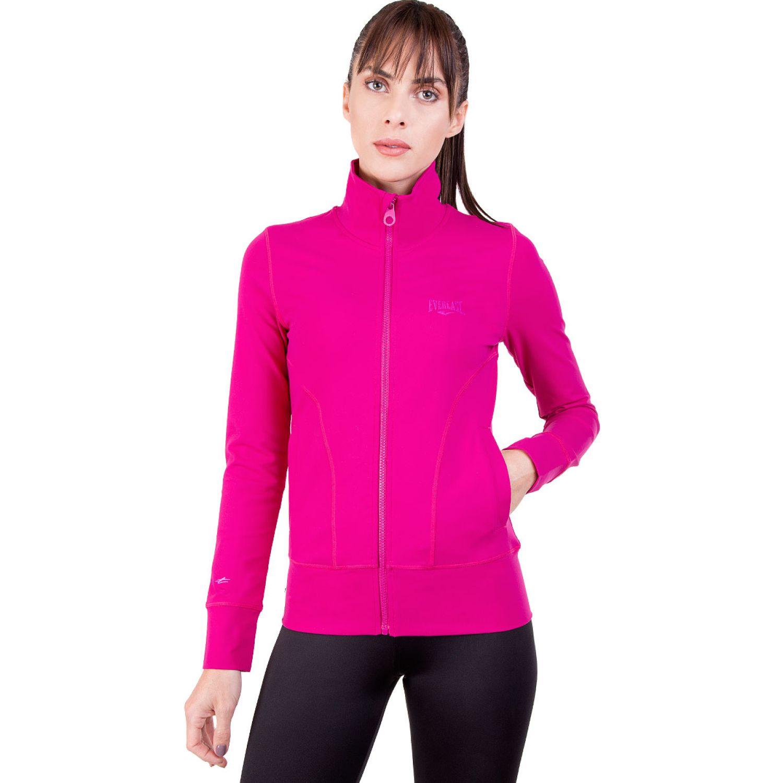 Everlast chaqueta basic Fucsia Casacas de Atletismo