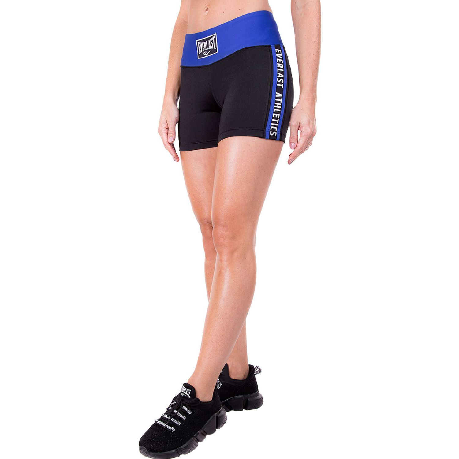 Everlast legging short ray Negro / azul Shorts Deportivos