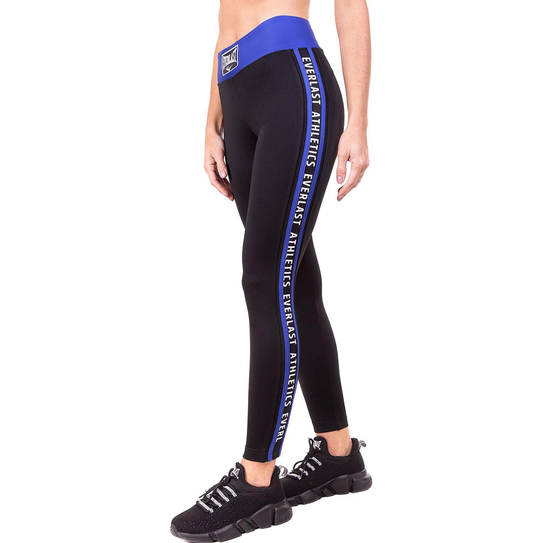 Everlast legging long ray Negro / azul Leggings Deportivos
