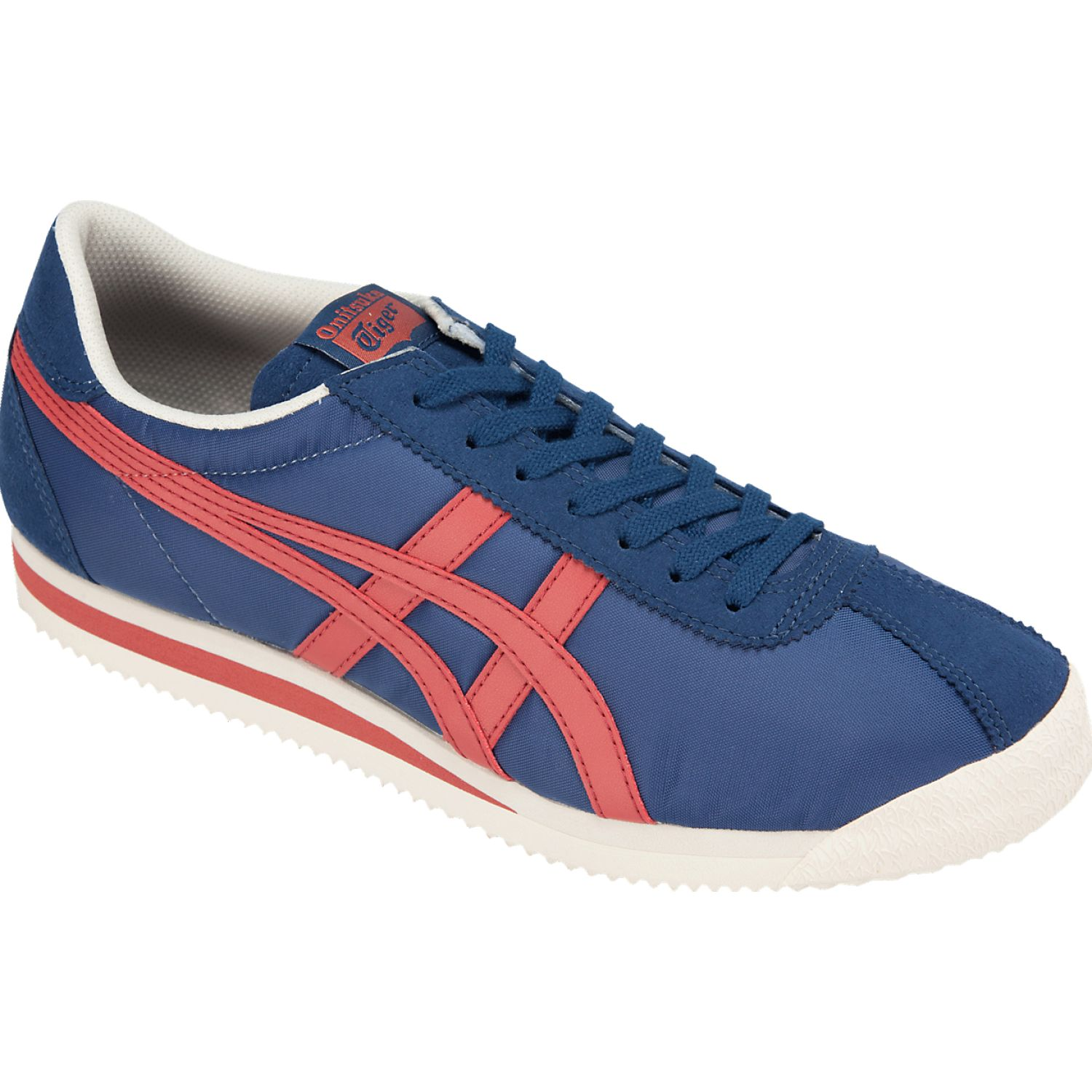 Asics tiger corsair Azul / rojo Walking