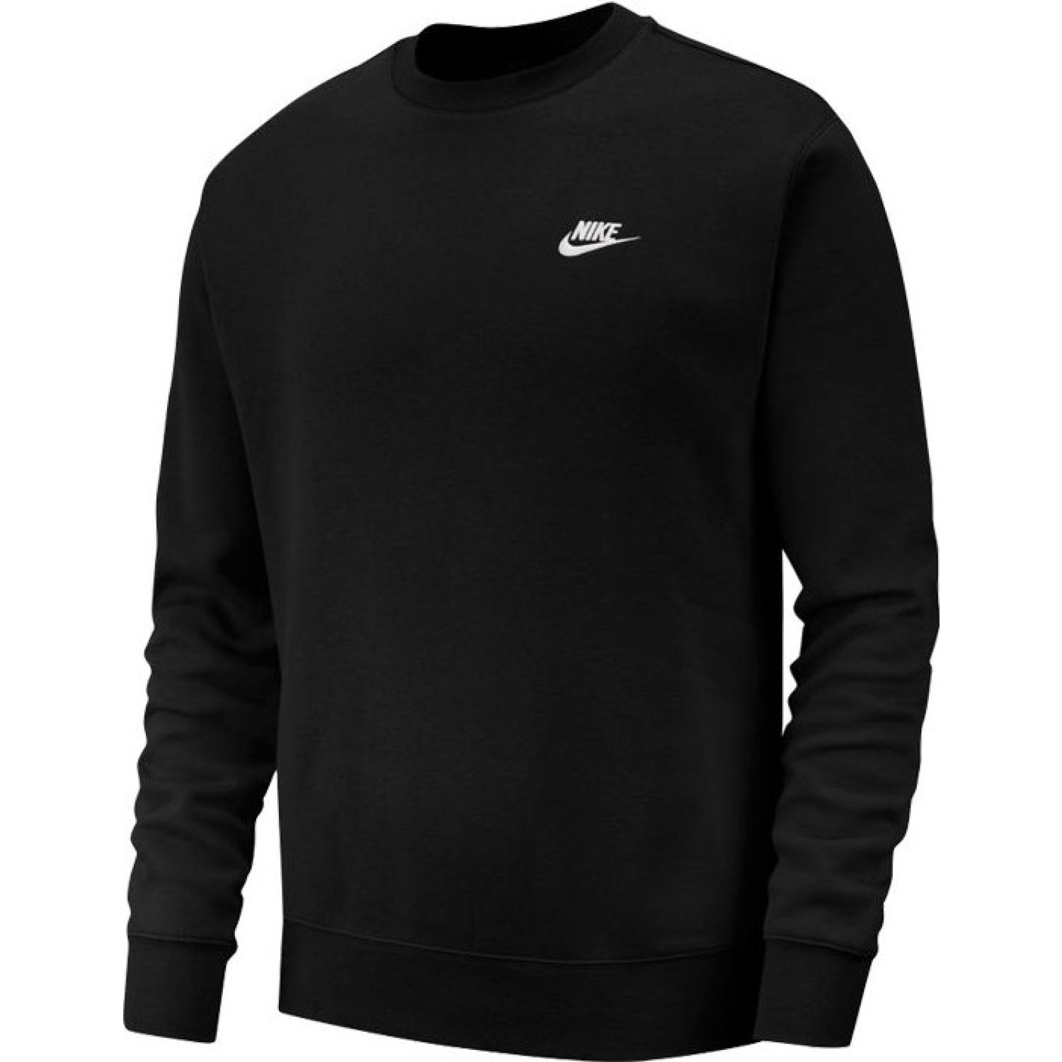 Nike M Nsw Club Crw Bb Negro / blanco Hoodies deportivos