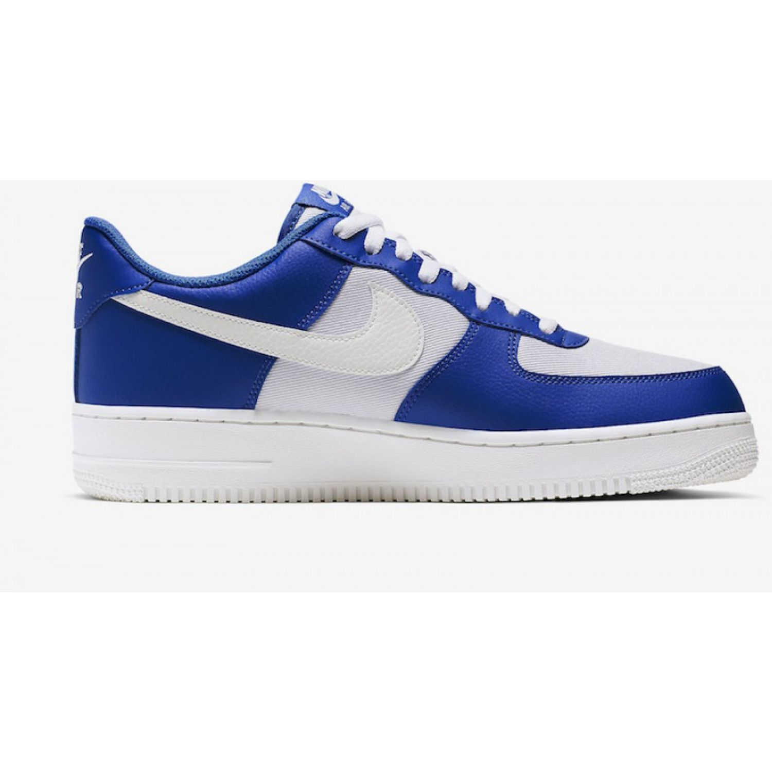 Nike air force 1 '07 1 Blanco / azul Walking | platanitos.com