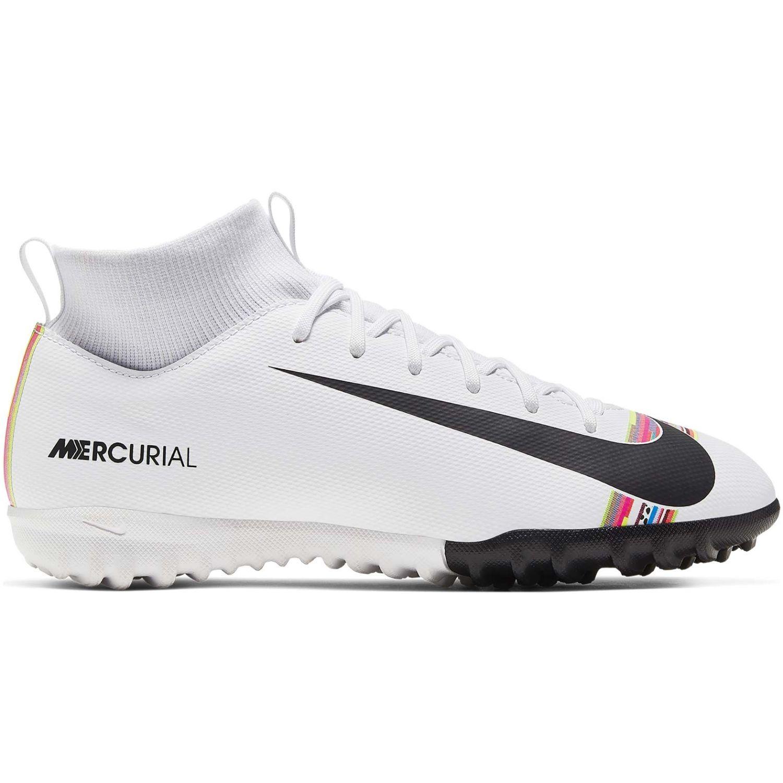 Nike jr spefly 6 academy gs cr7 tf Blanco / negro Muchachos