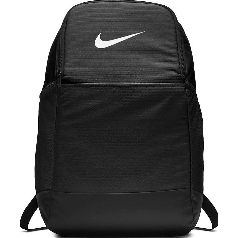 Nike nk brsla m bkpk - 9.0 (24l) Negro / blanco Mochilas Multipropósitos