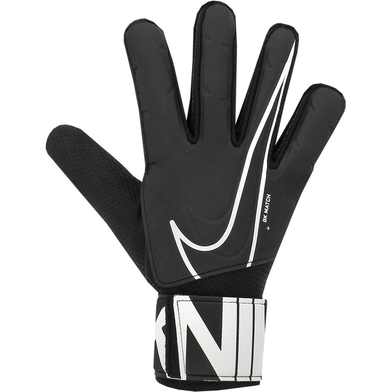 Nike nk gk match Negro / blanco Guantes
