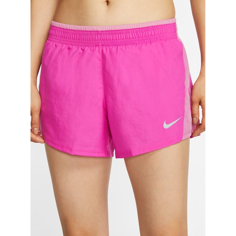 Nike W Nk 10k Short Fucsia Shorts deportivos