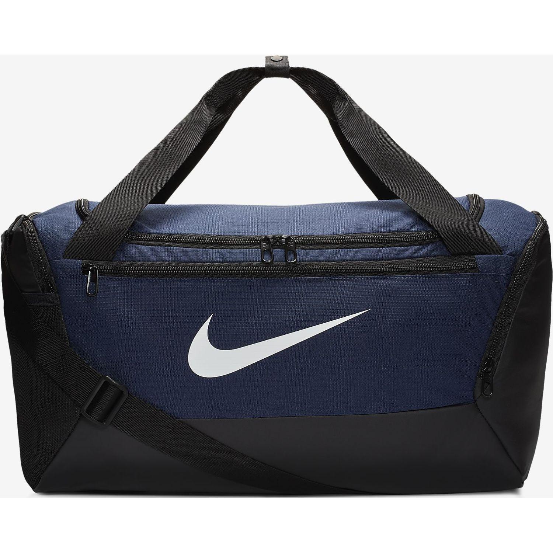 Nike NK BRSLA S DUFF - 9.0 (41L) Negro / azul Bolsos de gimnasio