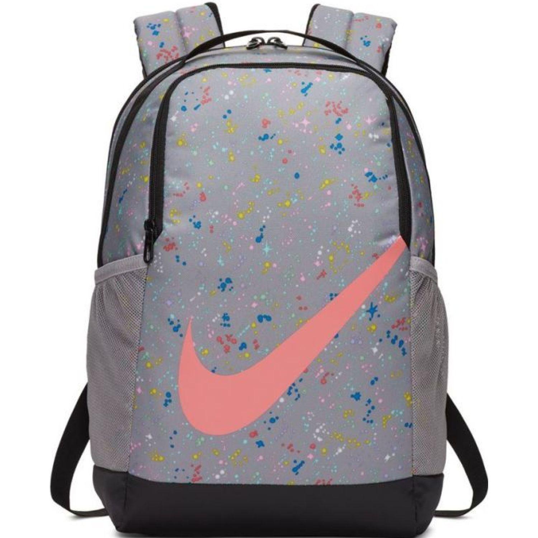 Nike y nk brsla bkpk - aop ho19 Gris / rosado mochilas